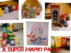 Mario Decorations and Games