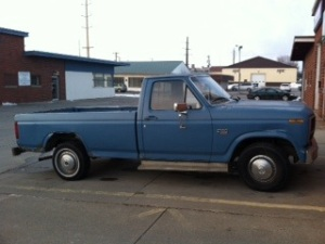 Ol Blue Pick up