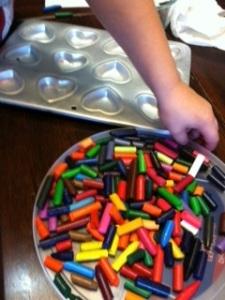 baking crayons