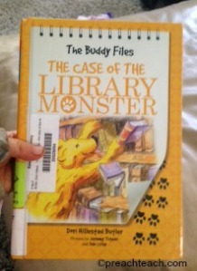 The Buddy Files The Case of The Library Monster by Dori Hillestad Butler
