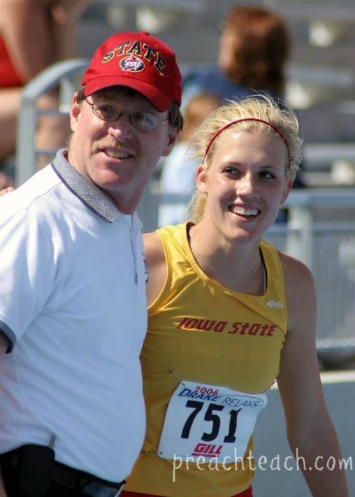 Coach Lynn-Drake Relays- Iowa State-preachteach