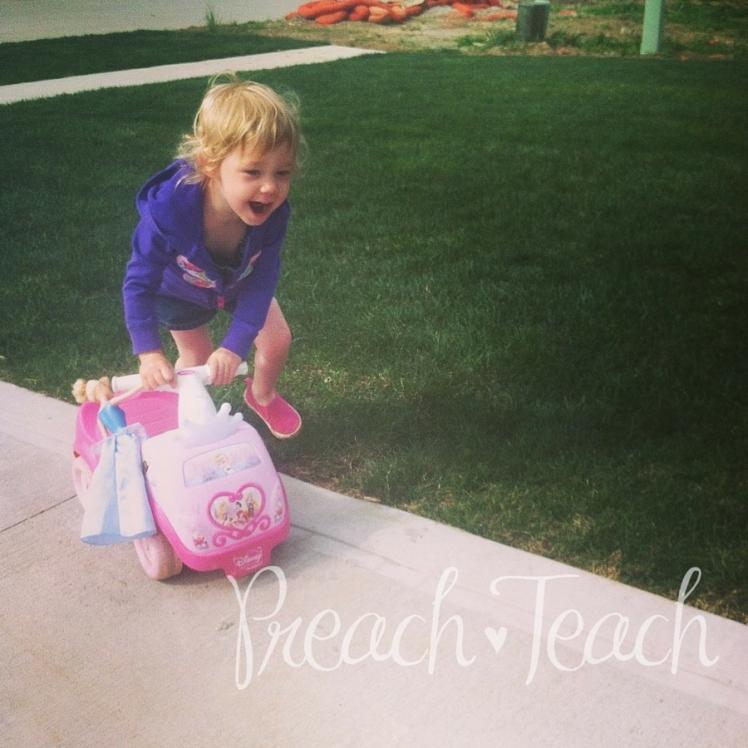 Daughter Princess Truck PreachTeach