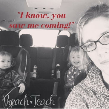 Mom at Jiffy Lube by PreachTeach blog feature