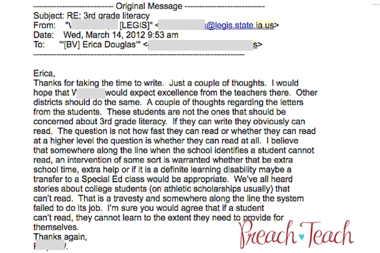 Email third grade literacy